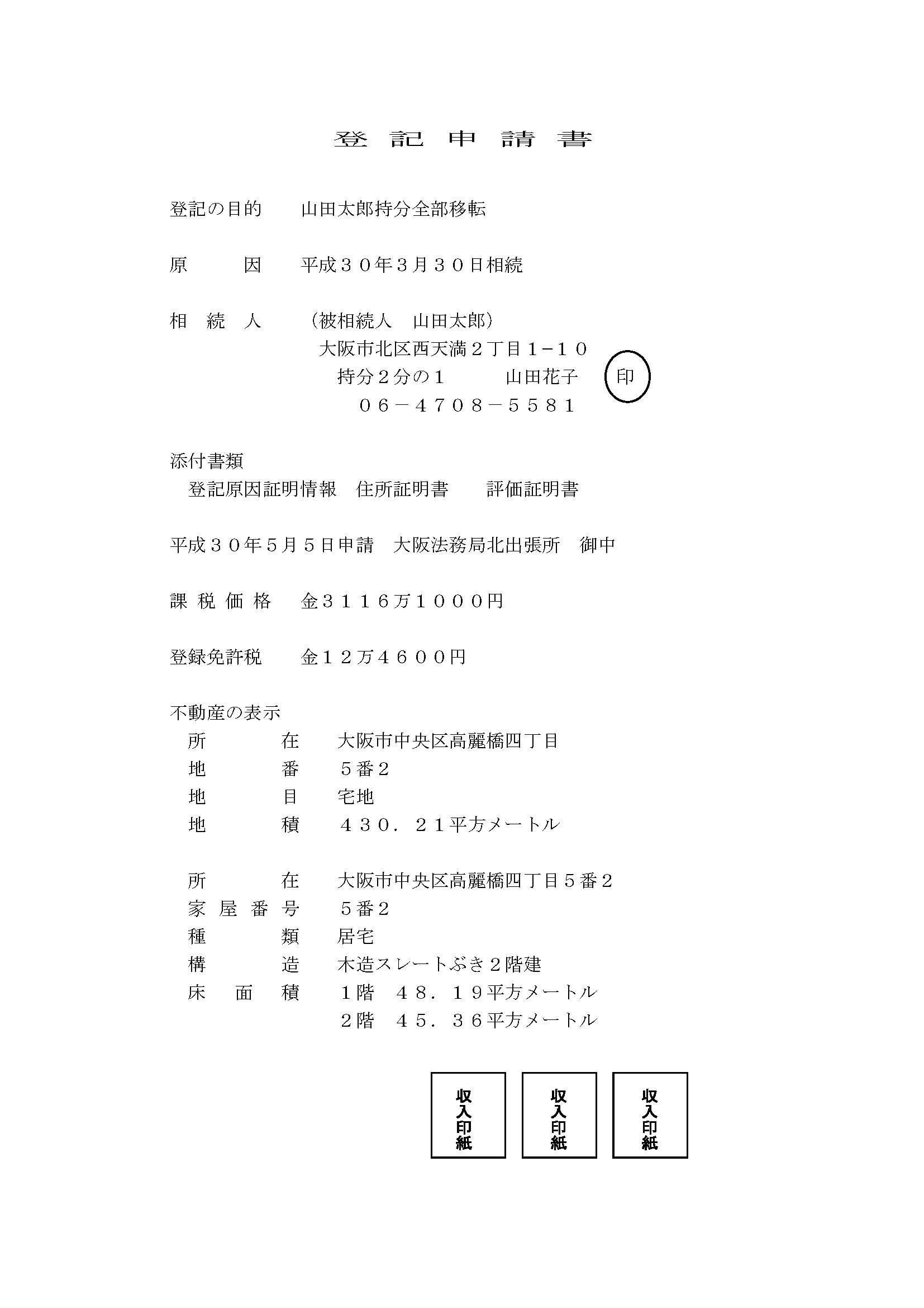 不動産 登記 申請 マニュアル